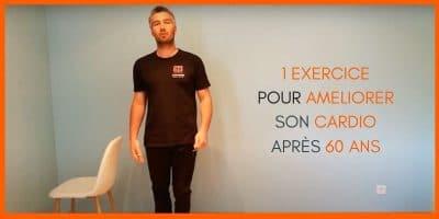 1 exercice en vidéo pour améliorer son cardio après 60 ans.