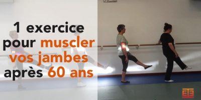 exercice de gym douce pour muscler les jambes après 60 ans