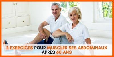 2 exercices de gainage pour muscler ses abdominaux après 60 ans