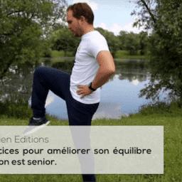 Trois exercices pour améliorer son équilibre quand on est senior