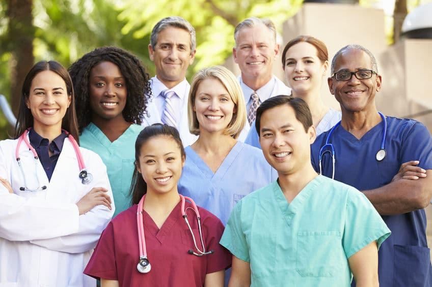 Equipe du personnel soignant