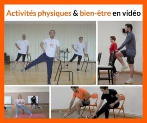 activités physiques et bien-être en vidéo pour les seniors