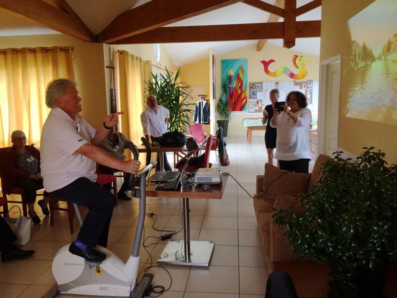 projet innovant d'activités physiques par Le Lab Senioriales