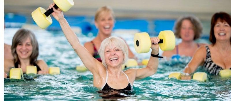 aquagym améliore la circulation sanguine