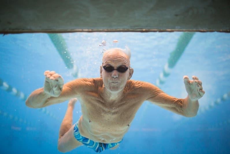 aquagym pour les seniors