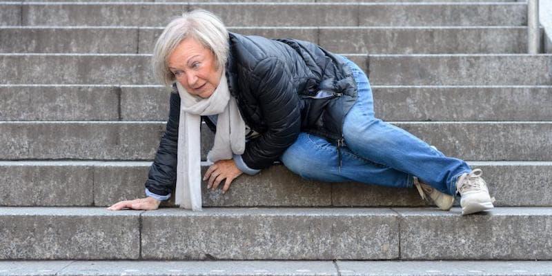 chute chez les seniors