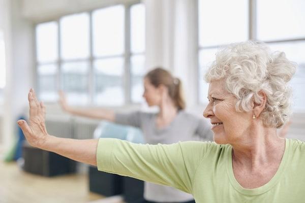 Comment envisager une séance de gym douce quand on est senior ?