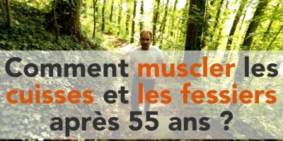 Image présentant des exercices dont le thème est : comment muscler les fessiers et cuisses après 55 ans