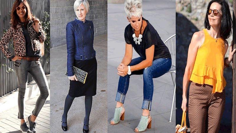 Comment s'habiller tendance à 60 ans