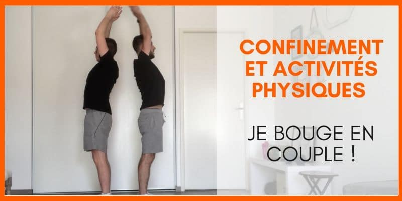 confinement et activités physiques en couple