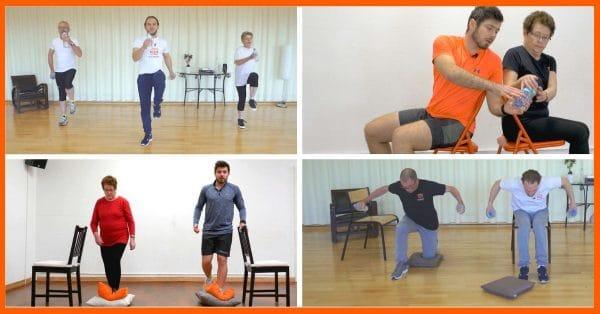 séances d'activité physique en vidéo