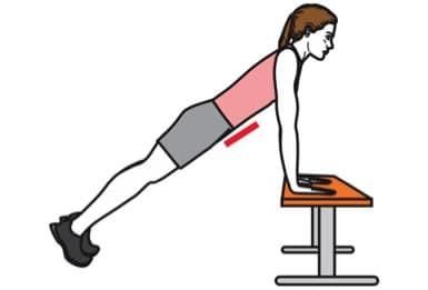 Exercice de renforcement musculaire des abdominaux