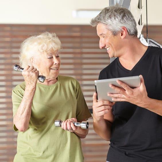 exercices d'activités physiques adaptées par une plateforme numérique
