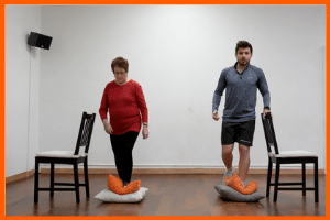 exercices d'équilibre en video