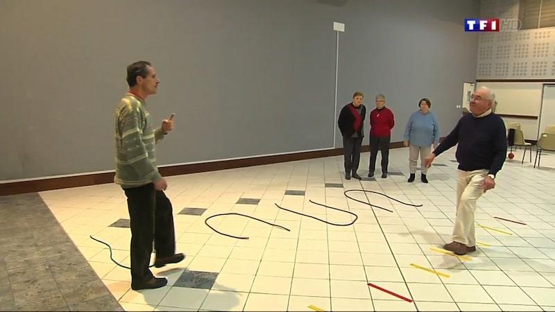 Exercices d'équilibre pour les personnes seniors