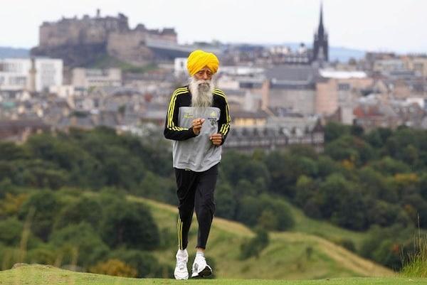 Fauja Singh est le plus vieux coureur à finir un marathon