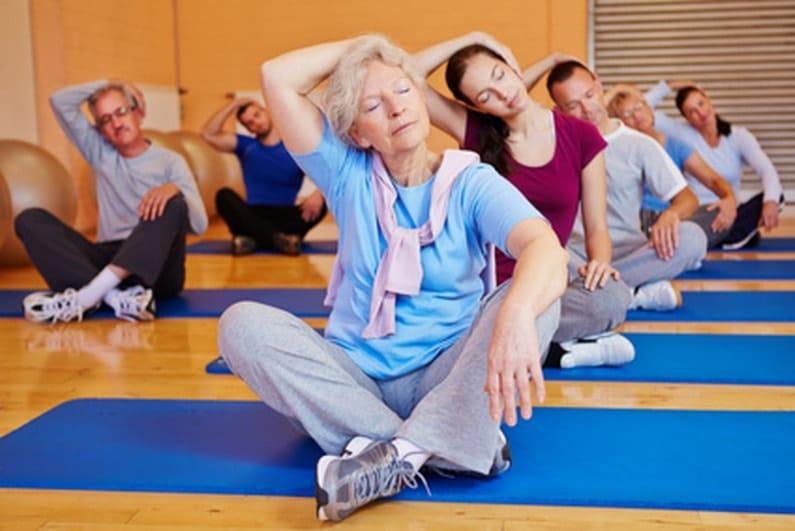 exercices de gym douce pour les seniors