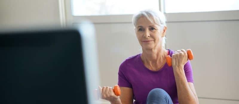 gym pour femme 60 ans