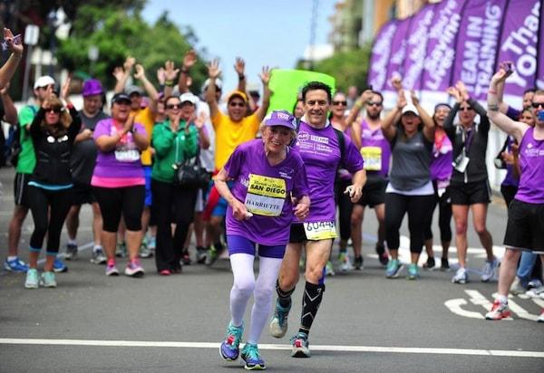 Harriette Thompson est la femme la plus âgées à terminer un marathon
