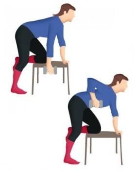 Exercice pour se muscler le dos quand on est senior