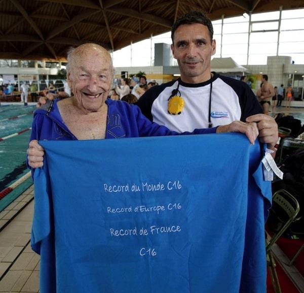 Jean Leemput est une légende de la natation française