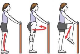 Exercice montée de genoux pour s'echauffer
