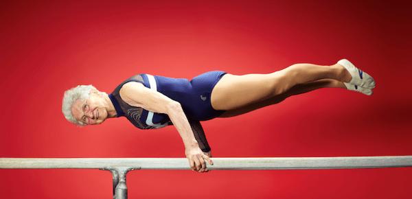 Gymnaste de 91 ans star de youtube