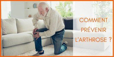 prévenir l arthrose homme senior souffre douleur genou arthrose