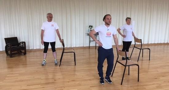 Programme Corpore Sano - exercices de gym douce pour les seniors à partir de 55 ans