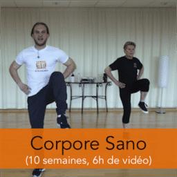 Programme Corpore Sano : gym douce et renforcement musculaire pour les seniors