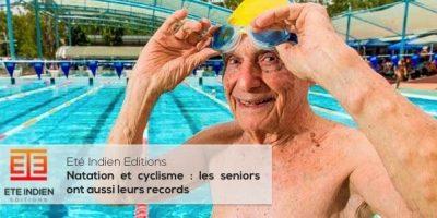 les records des seniors en cyclisme et natation