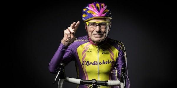 Robert Marchand est le recordman du monde de l'heure en cyclisme