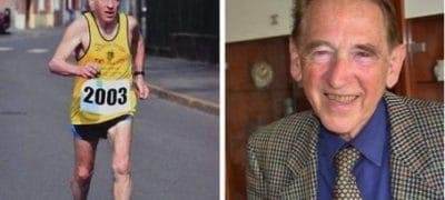 Roland Charpiot, 84 ans est le participant le plus âgé de la course Sedan Charleville 2017
