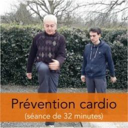 séance d'exercices de prévention des risques cardio-vasculaires