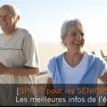 Sport pour les seniors, les meilleures infos de l'été
