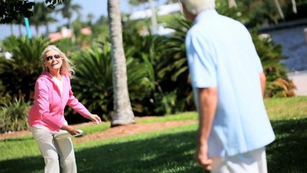 L'ultimate est une nouvelle activité physique pour les seniors