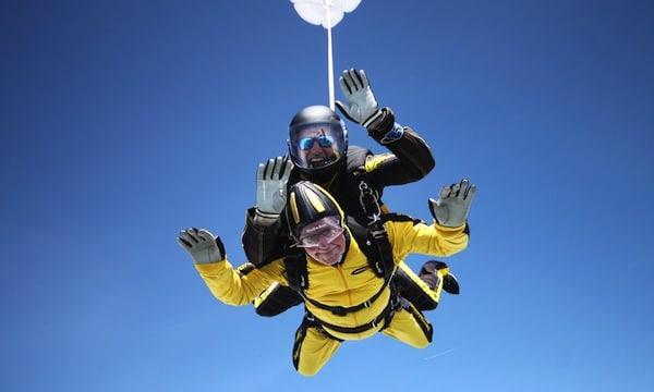Verdun Hayes record du monde senior du saut en parachute