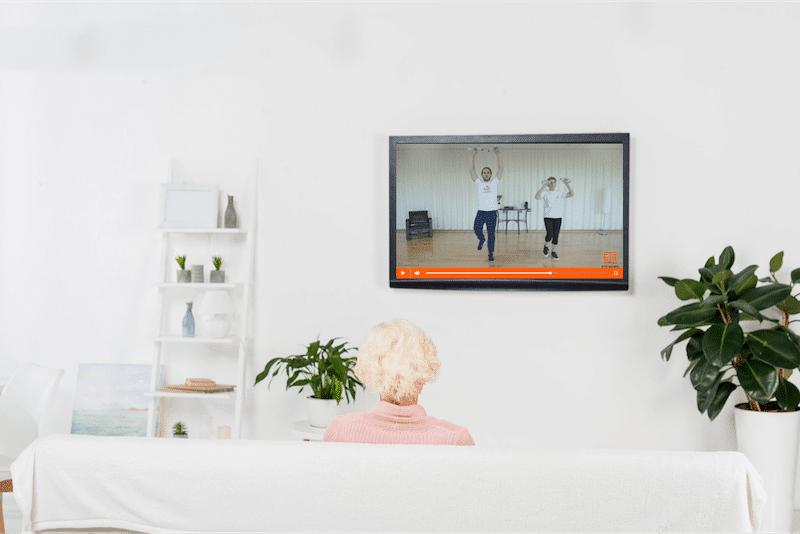vidéothèque de séances d'activités physiques adaptées pour les seniors en vidéo