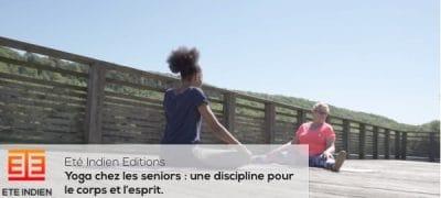 yoga chez les seniors : une discipline pour le corps et l'esprit